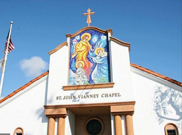 Exterior of St. John Vianney Chapel
