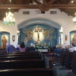 Interior of St. John Vianney Chapel