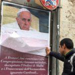 Rome awakens to anti-Francis posters