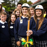 Groundbreaking held for new school, parish offices at St. Ignatius in Sacramento