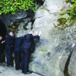 Two California bishops take prisoners' petitions to Lourdes