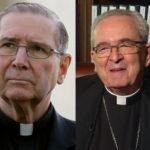 Three cardinals and an archbishop