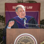 'Protect the rule of law,' Leon Panetta tells 2017 Santa Clara University law graduates