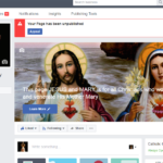 Facebook blames glitch for pulling plug on Catholic pages