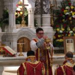 Newly ordained priest celebrates first Latin Mass