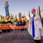 Bishop of Orange blesses future Lady of La Vang shrine site