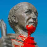 Another statue of St. Junipero Serra vandalized