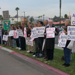Candlelight vigil in San Diego to commemorate Roe v Wade
