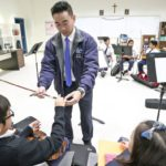 Why is Christ Cathedral Academy seeing increase in school enrollment?