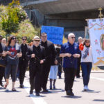 Oakland bishop leads rosary procession to Planned Parenthood in Walnut Creek
