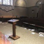 Landmark North Hollywood church vandalized