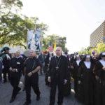 LA Archbishop Jose Gomez leads parade celebrating city's 237th birthday