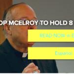 McElroy fudges with parish bulletins