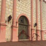 Vandals target Old Mission Santa Barbara again
